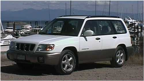 2002 Subaru Forester Type 'S'